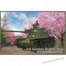 Type 3 Chi-Nu Kai Japanese Medium Tank - IBG 72058