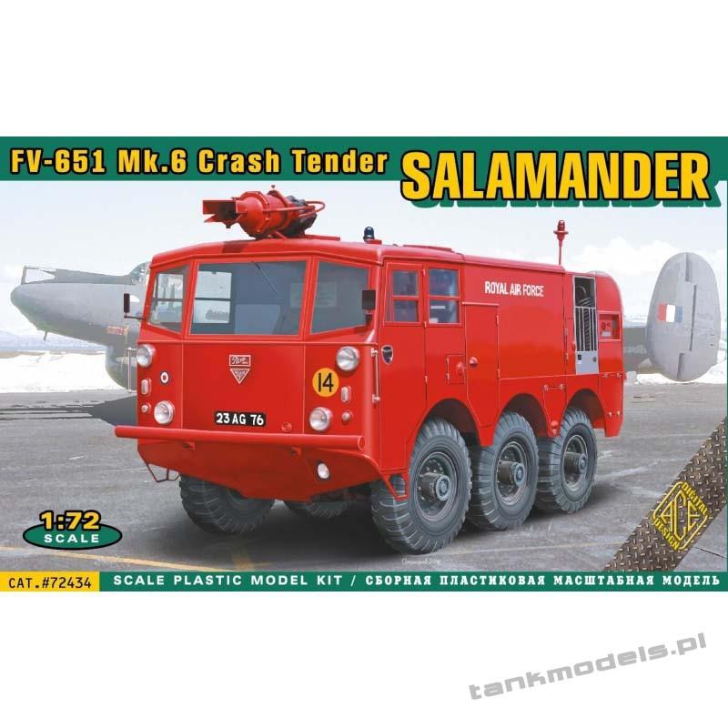 FV-651 Mk.6 Salamander crash tender (Fire Engine) - ACE 72434