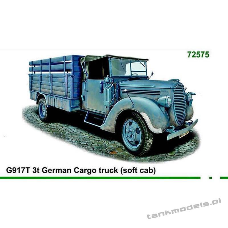 G917T 3t German Cargo truck (soft cab) - ACE 72575