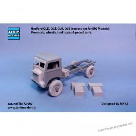 Wheels for Bedford and upgrade set for IBG - Tank Models 72007