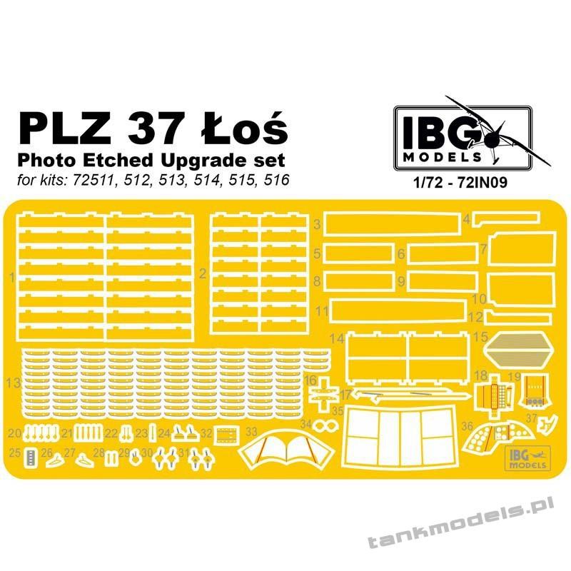 PE Upgrade set for PZL 37 Łoś - IBG 72IN09