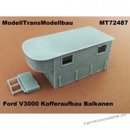 Ford V3000 Kofferaufbau Balkanen (for IBG) - Modell Trans 72487