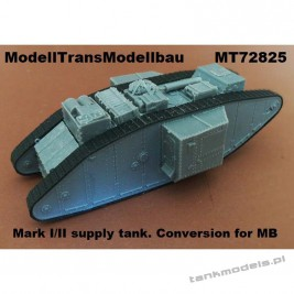 Mark I/II supply tank (conv. for MB) - Modell Trans 72825