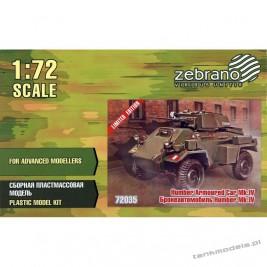 Humber Mk. IV Armoured Car - Zebrano 72035