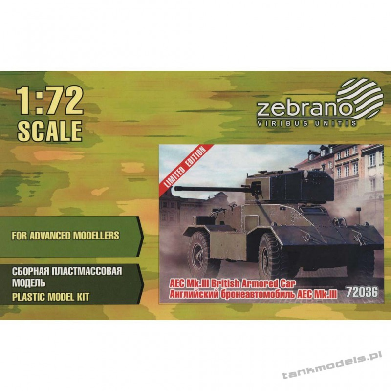 AEC Mk. III Armoured Car - Zebrano 72036