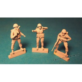 IDF Infantry 1980 (3 fig) - Modell Trans 72906