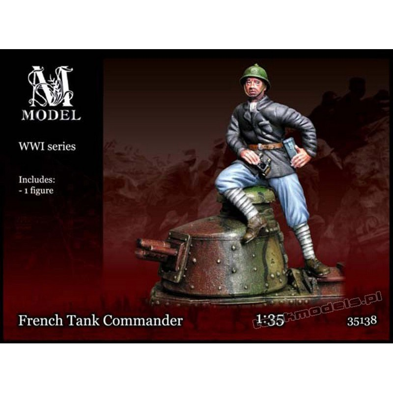 French Tank Commander