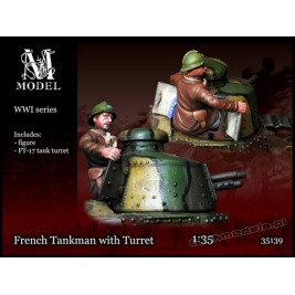 French Tankman w/Turret 1917-40 - M Model 35139