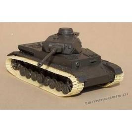 Winterketten (Ostketten) Panzer III - Modell Trans MT 72025