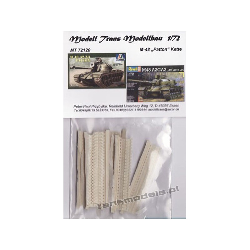 Tracks for M48 Patton (for Revell) - Modell Trans 72120