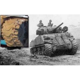 T54E2 Duckbill Sherman tracks - Modell Trans 72042