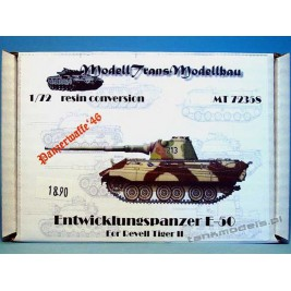 E-50 Entwiklungspanzer (conv. for Tiger II Revell) - Modell Trans 72358