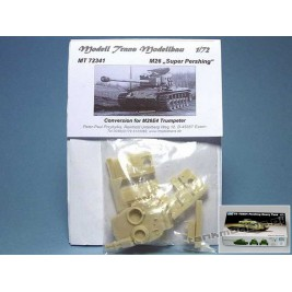 M26 Super Pershing (conv. for Trumpeter) - Modell Trans MT 72341