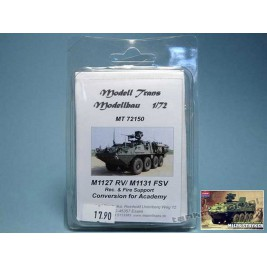 M1127 RV / M1131 FSV (conv. for Academy) - Modell Trans MT 72150