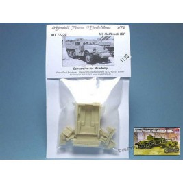 M3 Halftrack IDF commando (conv. for Academy) - Modell Trans MT 72230
