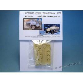 Sd.Kfz. 251 układ jezdny - Modell Trans 72320