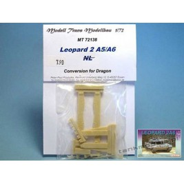 Leopard 2 A5/A6 (conv. for Dragon A5/6 ) - Modell Trans MT 72138