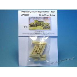 M3 Half Track & Jeep zestaw dodatków - Modell Trans 72095