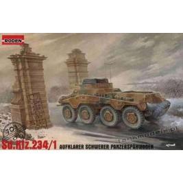Sd. kfz. 234/1 Aufklarer Schwerer Panzerspahwagen - Roden 703