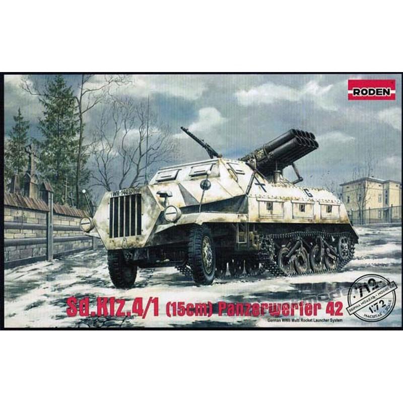 Sd. Kfz. 4/1 Panzerwerfer 42 (early)
