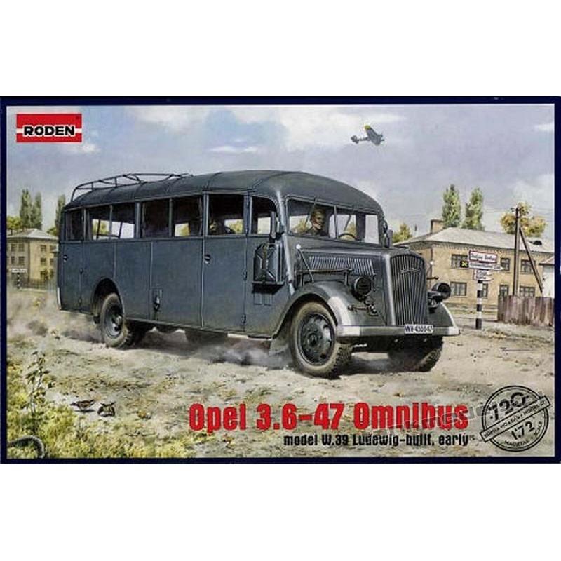 Opel Blitz Omnibus mod. W39 Ludewig ( Essen) (DAK)