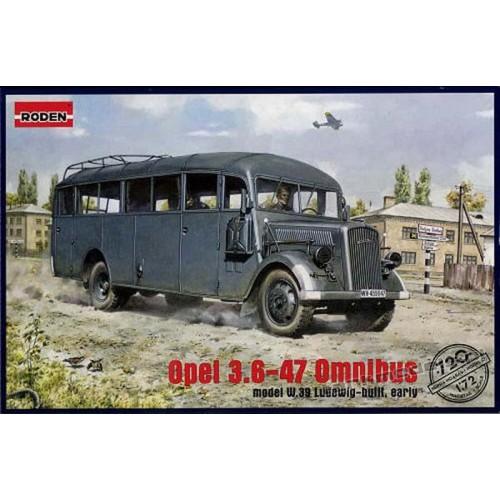 Opel Blitz Omnibus mod. W39 Ludewig ( Essen)