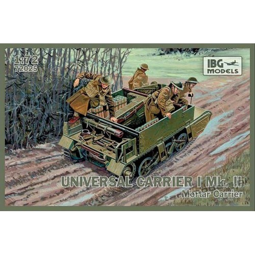 Universal Carrier I Mk.II Mortar Carrier - IBG 72025