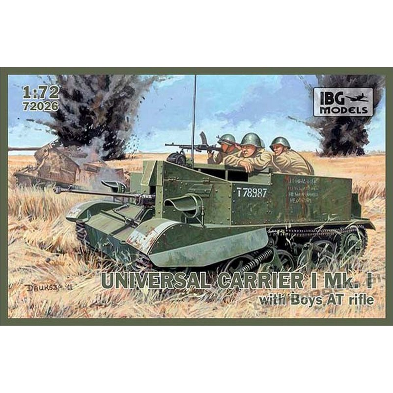 Universal Carrier with 14,5 mm Boy