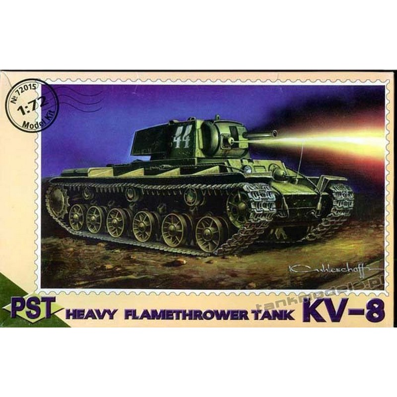 KV-8 Flamethrower