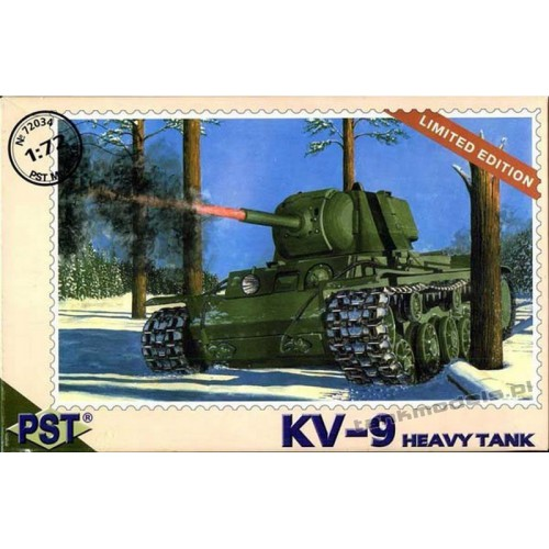 KV-9 Heavy tank - limited edition - PST 72034