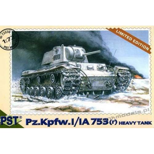 Pz.Kpfw.I/IA 753(r ) Heavy tank - PST 72036