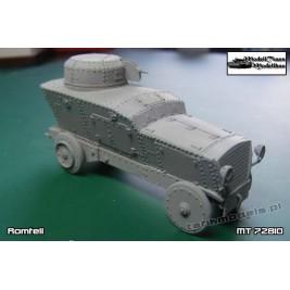 KuK Panzerwagen Romfell - Modell Trans MT 72810