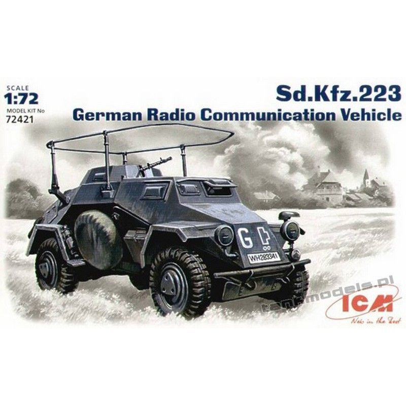 Sd.Kfz. 223, German Radio Communication Vehicle