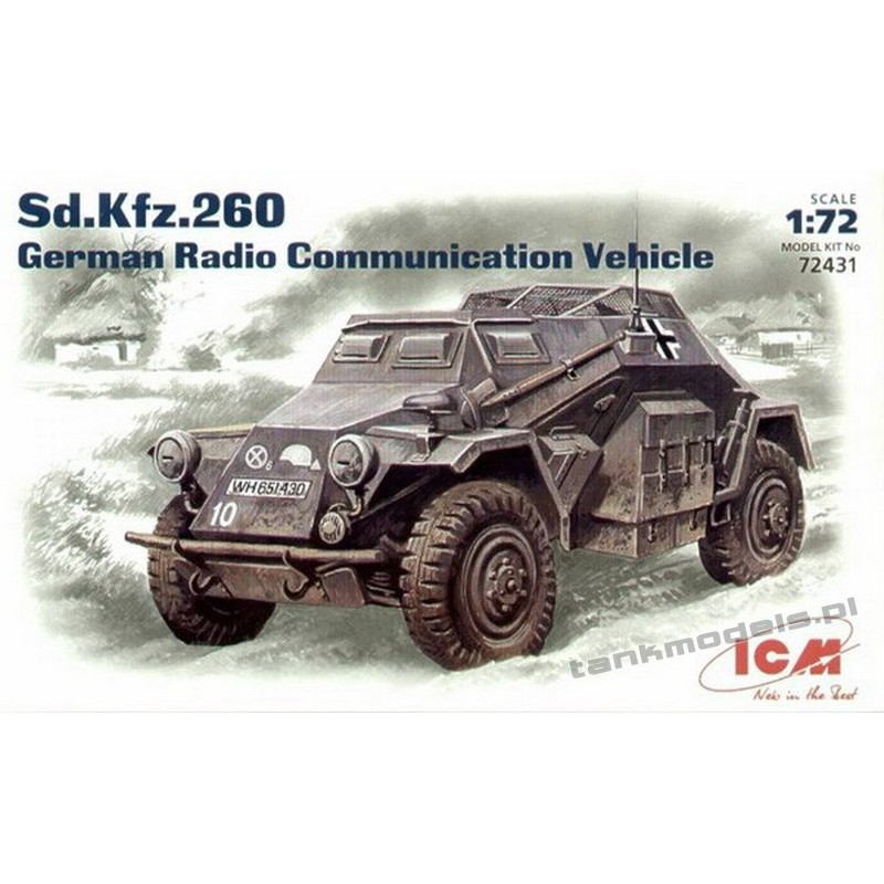 Sd.Kfz. 260 German Radio Communication Vehicle