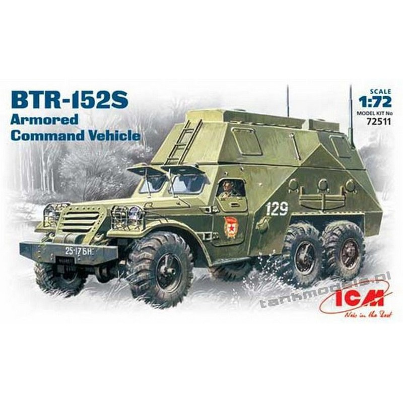 BTR-152S Command Vehicle