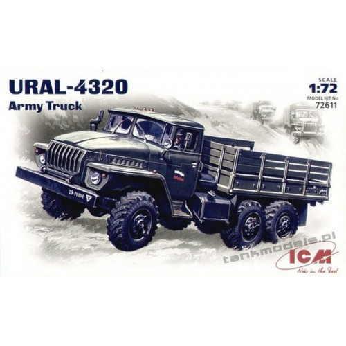 Ural-4320 Army Truck - ICM 72611