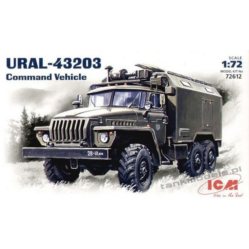 Ural 43203 Command Vehicle