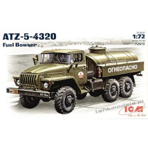 Ural-4320 ATZ-5 Fuel Bowser - ICM 72613