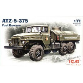 Ural-375 with ATZ-5 Fuel tanker - ICM 72713