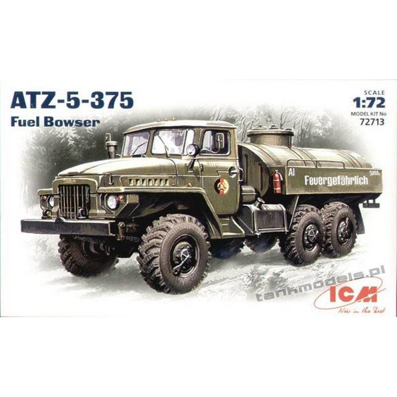 ATZ-Ural-5-375 Fuel tanker