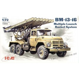 BM-13-16 Multiple Launch Rocket System on ZiL-131 base