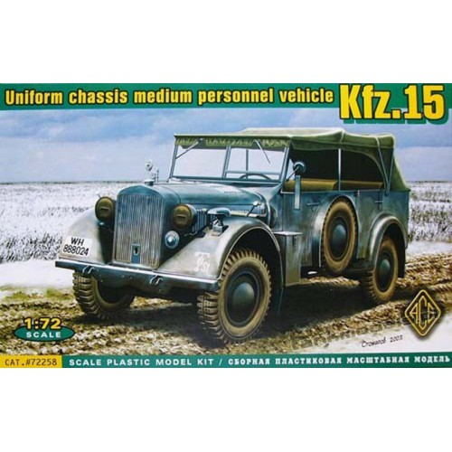 Kfz. 15 radio vehicle - ACE 72258