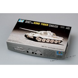 King Tiger II (Porsche) with Zimmerit - Trumpeter 07292