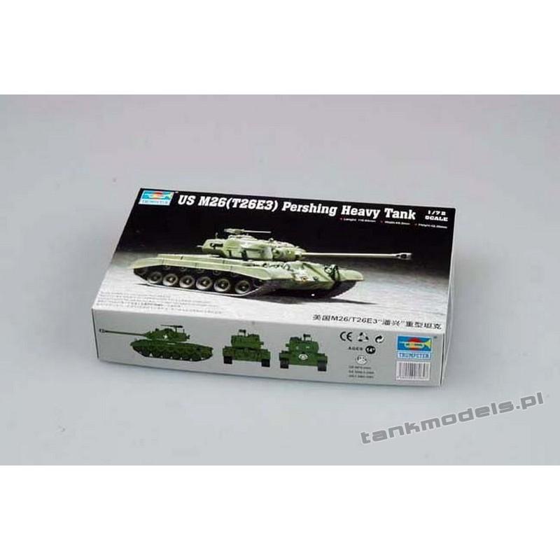 US M26 (T26E3) Pershing Heavy Tank
