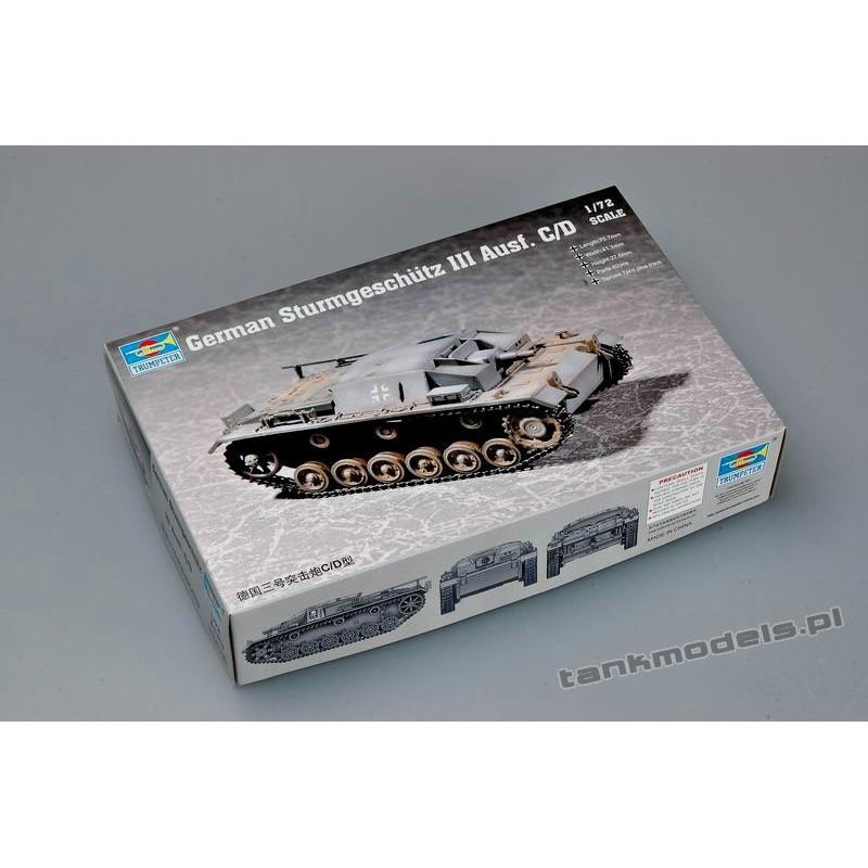 Sturmgeschütz Ⅲ Ausf. C/D
