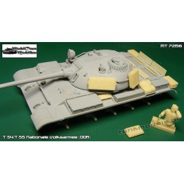 T-54/T-55 Nationale Volksarmee (DDR) - Modell Trans 72156