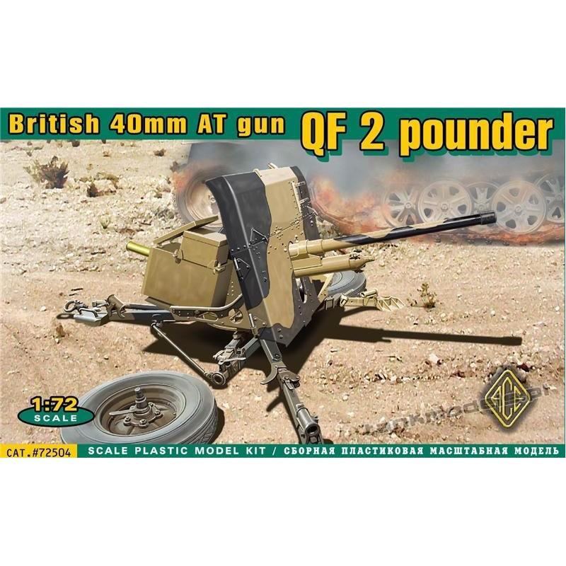 QF 2 pounder British 40mm AT gun