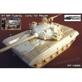 PT-91A Twardy (conv. for Revell) - Modell Trans 72155