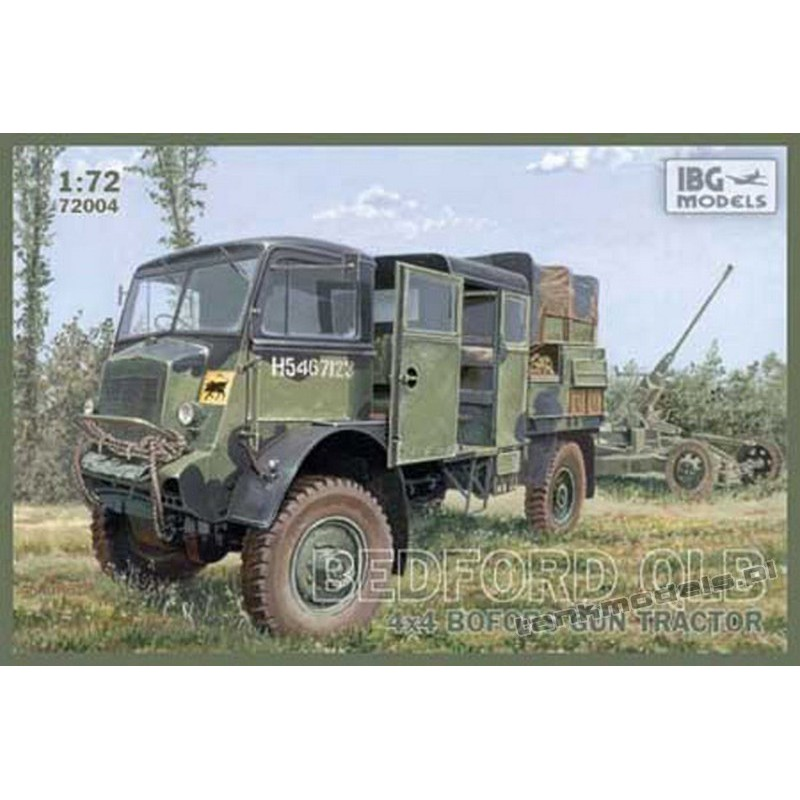 Bedford QLB 4x4 Bofors Gun tractor