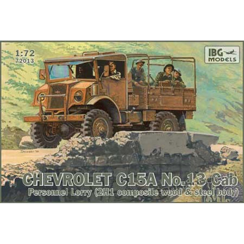 Chevrolet C.15A No.13 Cab Personnel Lorry